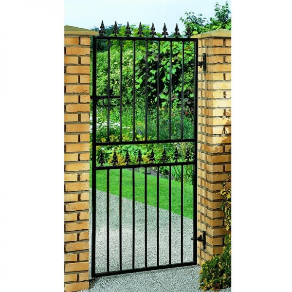 Hampton Tall Metal Garden Gate