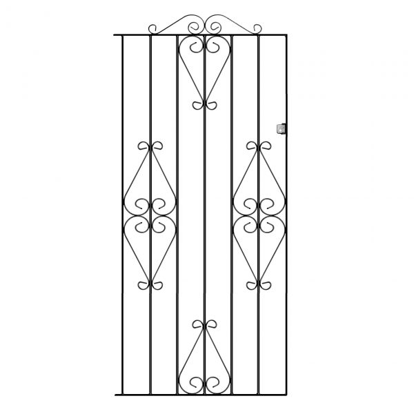 WINCHESTER Tall flat top side gate