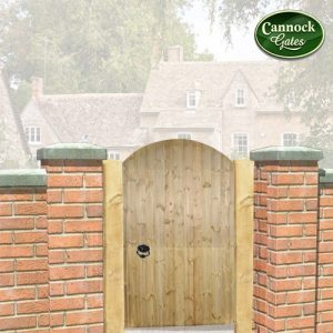 Devon Arch Wooden Garden Gate