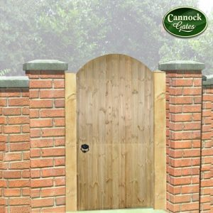 Devon Arch Tall Wooden Garden Gate
