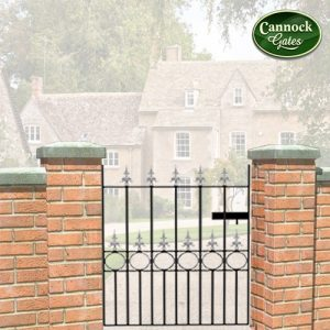 royal talisman metal garden gate
