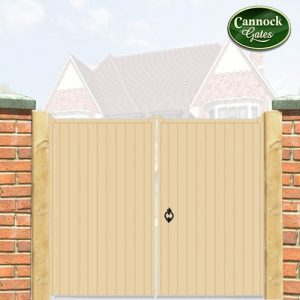 Norfolk Wooden Tall Driveway gates
