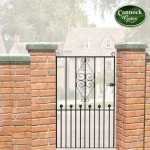 royal marquis tall metal garden gate