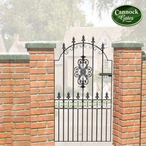 royal talisman tall metal garden gate
