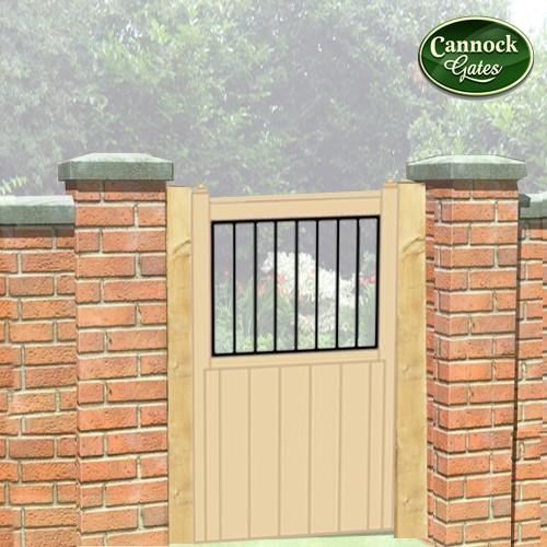 shrewsbury tall wooden garden gate