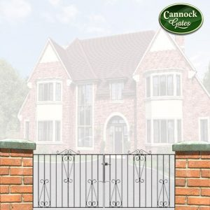 winchester metal driveway gates