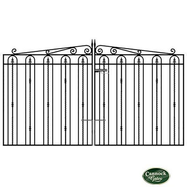 Windsor Tall Metal Driveway Gates