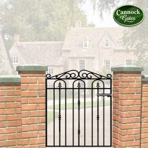 windsor metal garden gate