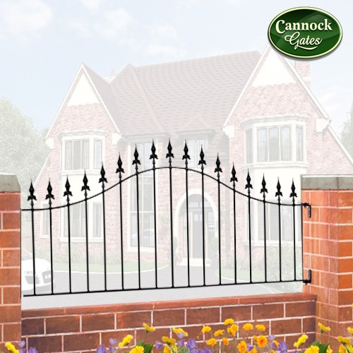 royal arch metal railing