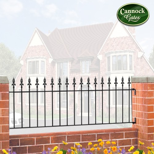 royal metal garden railings