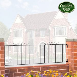 Wincehster metal garden railings